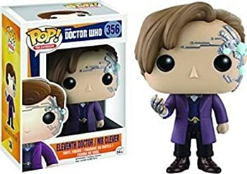 Funko POP Television  Doctor Who - 11th Doctor with Mr Clever Action Figure,3.75 inches
