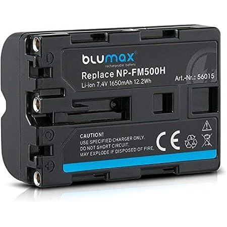 Blumax Akku Ersetzt Sony Np Fm500h Kompatibel Mit Elektronik