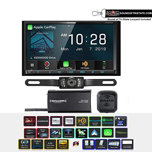 Lowest Price! Kenwood DNR876S Digital Multimedia Navigation Receiver w/License Plate Style Camera & ...