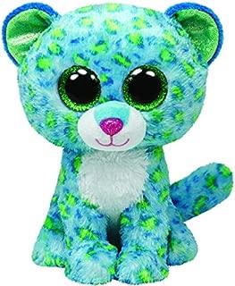 Ty Beanie Boos Buddies Leona - Leopard Blue med