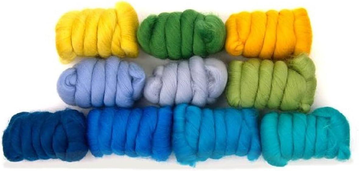 Revolution Fibers Mixed Max 71% OFF Merino Wool Woo Variety Pack Popular Perfect
