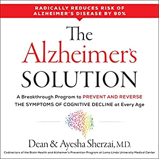 The Alzheimer's Solution audiobook cover art