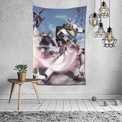 Tapiz para decoración de pared, manta para ventana, decoración de interiores de moda, popular, tela de guerreros de dinastía (60 x 40 pulgadas)