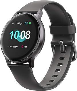 UMIDIGI Smartwatch Uwatch 2S, Fitness Tracker Horloge met Vrij te Kiezen Achtergrondafbeelding, 5 ATM Waterdicht Smartwatc...