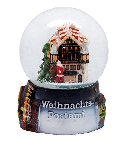 MINIUM-Collection 30053 - Bola de Nieve Alemania Souvenir de la Navidad Mercado Oficina de Correos de Navidad