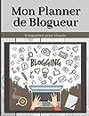 Mon Planner de Blogueur s'organiser pour réussir: Blogueurs débutants ou confirmés, 172 pages grand format pour vous aider à créer vos contenus. Un vrai plus pour organiser la publication de vos articles, vos idées, mots clés et tags.