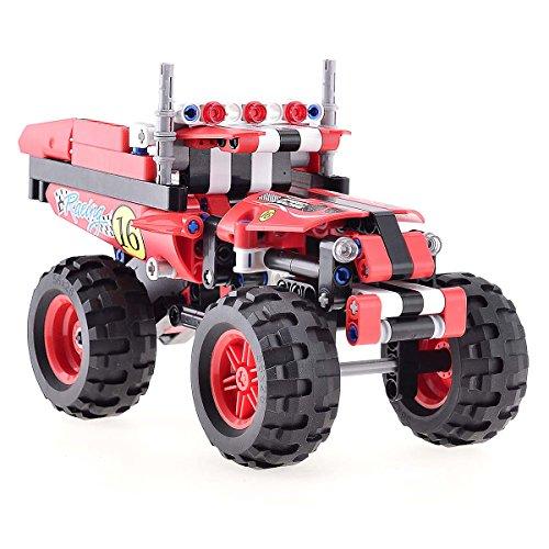 BIOZEA Motor Car Building Blocks Intelligence Toy Crazy Truck Assemblyfor 7-14 Teenage, 213pcs