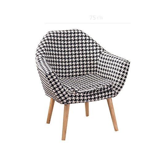 G-Y Sofa Paresseux, Sofa De Loisirs De Tissu Nordique Simple, Sofa De Chambre À Coucher De Petit Appartement De Balcon