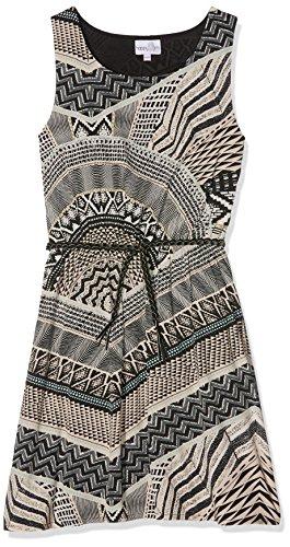 Eisend Mädchen Kleid Luana Mehrfarbig (Taupe 16) 170