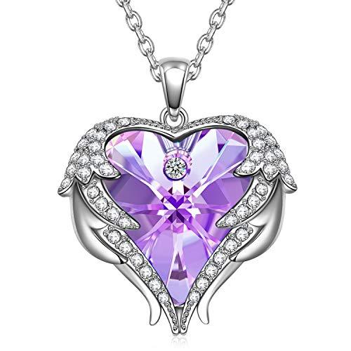 Kate Lynn - So in Love - Collar, Cristal de Swarovski, Colgante de Cristal de corazón de diseño Original, Regalos de joyería para Mujeres, Embalaje de Caja Exquisita