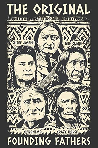2020 Week To View Dated Planner Diary: 6x9 Inches Paperback Native American Indian Original Founding Fathers Geronimo Sitting Bull Lakota Apache Nez Perce Tribe