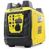 Yinleader generador de corriente portátil YF2300i (2300W), generador de corriente de emergencia, generador de corriente digital de gasolina