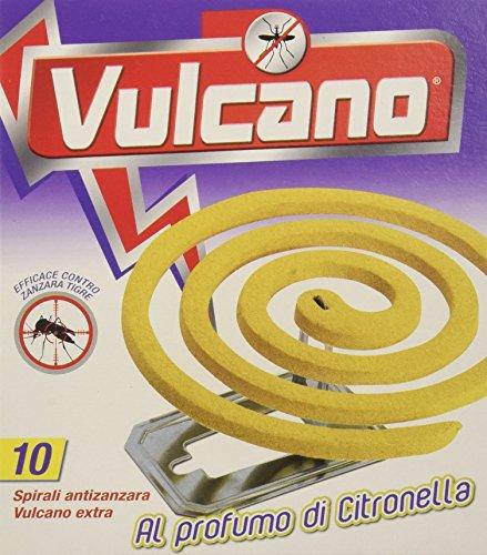 Spira Vulcano, Spirali Profumate - 5 confezioni da 10 spirali [50 spirali]