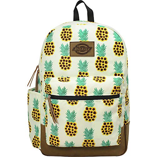 Dickies Colton Poly Canvas Laptop Backpack (Sunflower Pineapple)