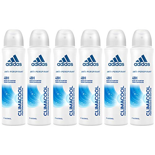 Climacool Performance In Motion, 48h Anti-Perspirant Spray For Women 5 Oz (6 Pack)