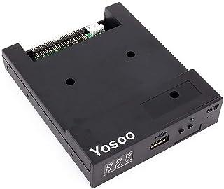 Yosoo Sfr1m44-u100k Updated Version USB Floppy Drive Emulator -Black