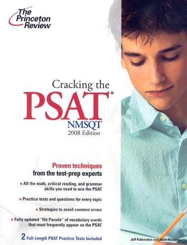 Compare Textbook Prices for Cracking the PSAT/NMSQT, 2008 Edition College Test Preparation Study Guide Edition ISBN 9780375766091 by Princeton Review