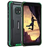 Unlocked Rugged Phones, Blackview BV4900 Rugged Cell Phones with 5580mAh Battery IP68 Waterproof Drop Proof, 5.7' Screen 3GB+32GB Dual SIM for GSM T-Mobile, Green