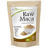 Organic Maca Powder (1lb), Highest Quality Available, Certified Organic by The Soil Association, by MySuperfoods