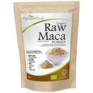 ALTAMENTE NUTRITIVO: El polvo de Maca está repleto de nutrientes saludables, incluyendo fibra, proteína, tiamina (B1), Riboflavina (B2), vitamina B6, calcio, hierro, zinc, todos son esenciales para un estilo de vida saludable. PUREZA ORGÁNICA: Nuestr...