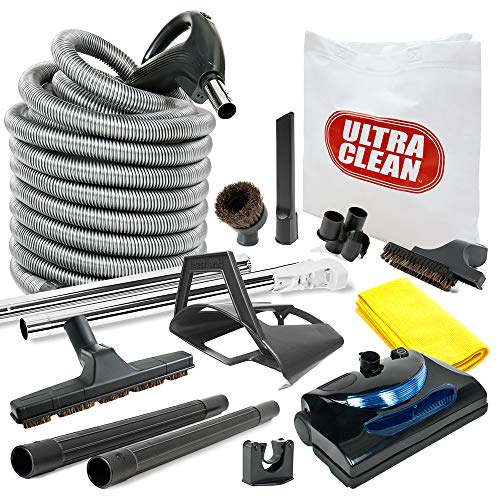 Amazing Deal Ultra Clean Central Vacuum kit with Powerhead, Hose and Tools for Beam Electrolux Nuton...