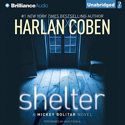 Shelter audiobook cover art