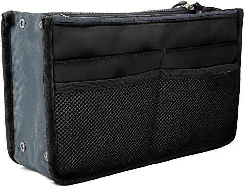 Ducomi Organizer Borsa Donna 13 Tasche Capiente Organizzatore Viaggio Borse Espandibile Doppio Manico Porta Accessori Cosmetici, Telefono, Trucco - Ga