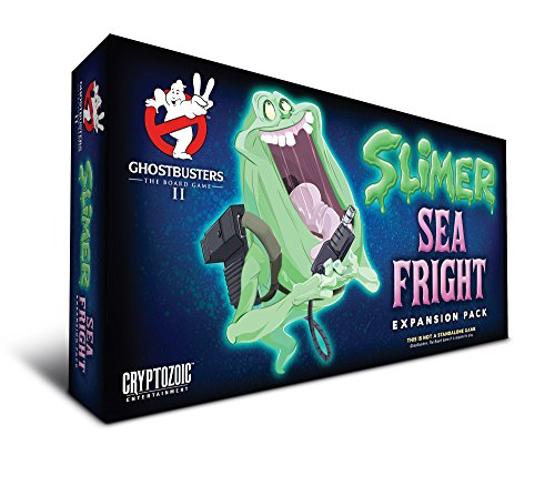 Unbekannt Cryptozoic Entertainment CRY02392 Ghostbusters Slimer Sea Fright Expansion Pack Brettspiel