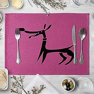مفرش طاولة برسومات حيوانات كرتونية لفرش طاولة الطعام والكتان لأكسسوارات طاولة المطبخ (اللون: 7، المقاس: مجاني)