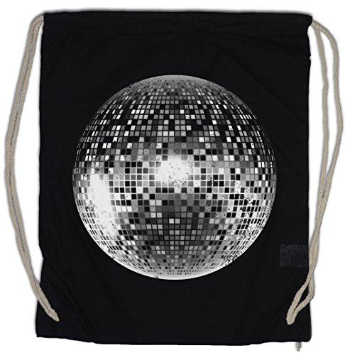 DISCO LIGHT I Bolsa de cuerdas con Cordón Gimnasio Retro Oldies Music...