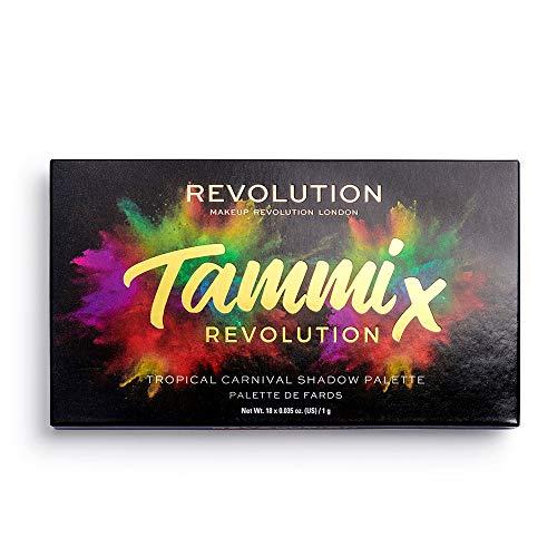 Makeup Revolution Palette de fard à paupières Tammi X Tropical Carnival