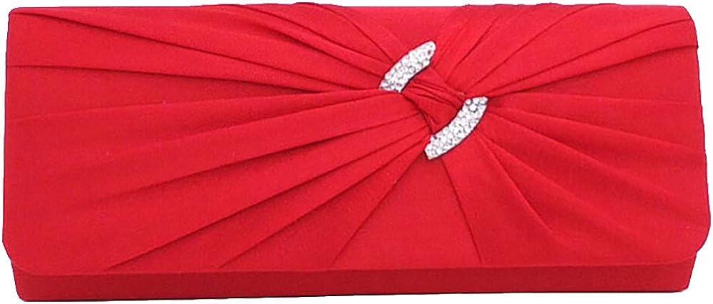 Ladies Wedding Package Diamond Folds Dinner Banquet Bag Evening Party Bag Clutch HandBag