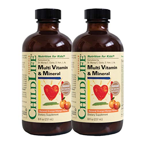 ChildLife Essentials Multi-Vitamin and Mineral for Infants, Toddlers, Children, and Teens (8 oz)