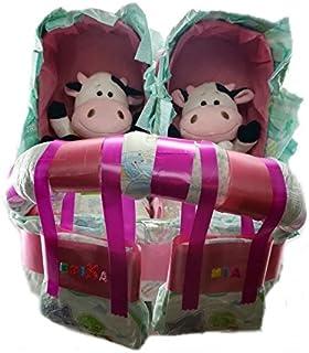 Amazon.es: Talla 3 - Tartas de pañales / Pañales: Bebé