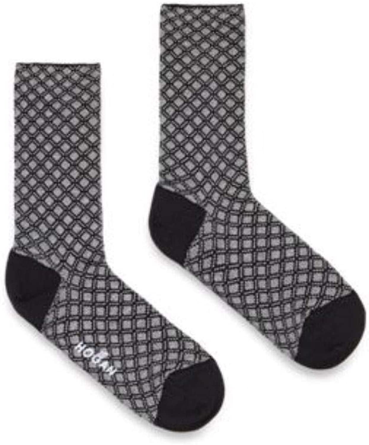Hogan Women's KSWF637908SE530353 Grey Cotton Socks