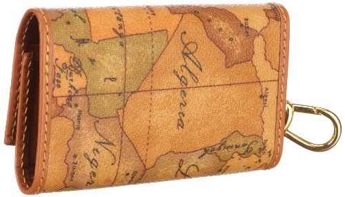 Alviero Martini 1a classe W2519000, Portachiavi donna, 7 x 10,5 x 2,5 cm (L x A x P), Beige (Beige/natural), Taglia unica