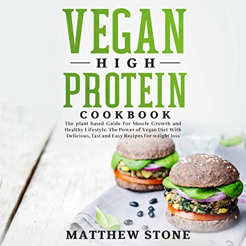 Vegan High Protein Cookbook Titelbild