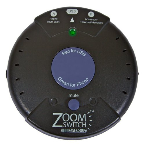 For Sale! Zoomswitch headset with MUTE