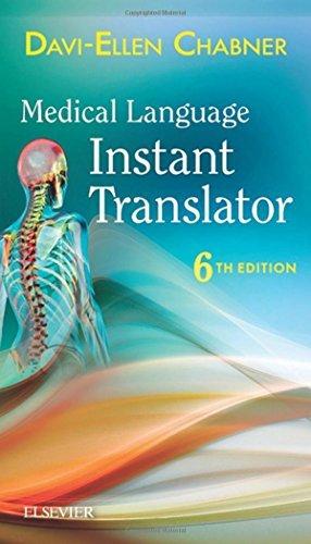 Medical Language Instant Translator, 6e by Davi-Ellen Chabner BA MAT (2016-02-22)