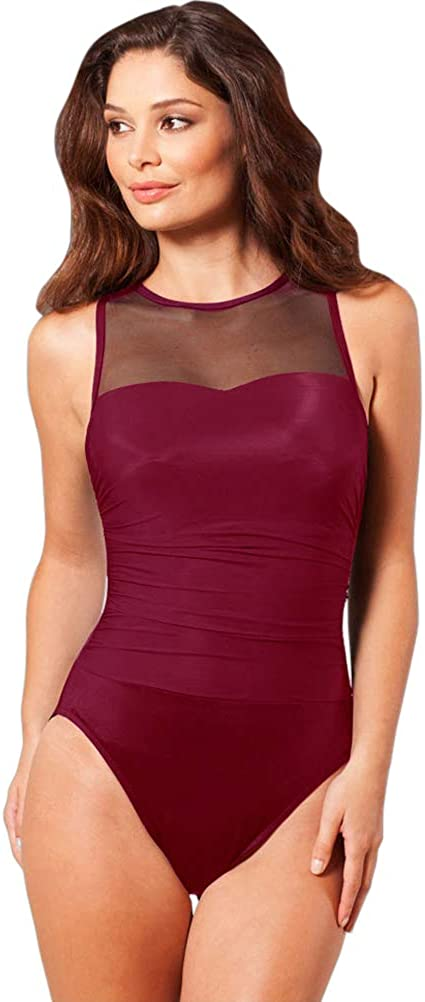 Oklahoma Direct sale of manufacturer City Mall Miraclesuit womens High Neck