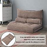Merax Floor Sofa Bed Futon Sofa Bed Sleeper Couch Sofa Foldable Lazy Sofa...