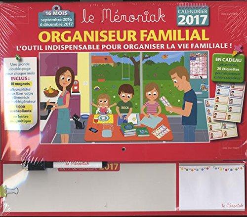 Organiseur familial Mémoniak 2016-2017