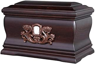JCCOZ-URG Black Rosewood Heavenly Peace Keepsake Urn for Human Ashes Box(22.5 * 22 * 33.5cm) JCCOZ-URG