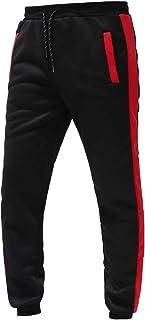 Modaworld Pantaloni da Jogging Uomo Sportivi Fitness Cotone Slim Fit Allenamento Pantaloni della Tuta da Uomo con Coulisse...