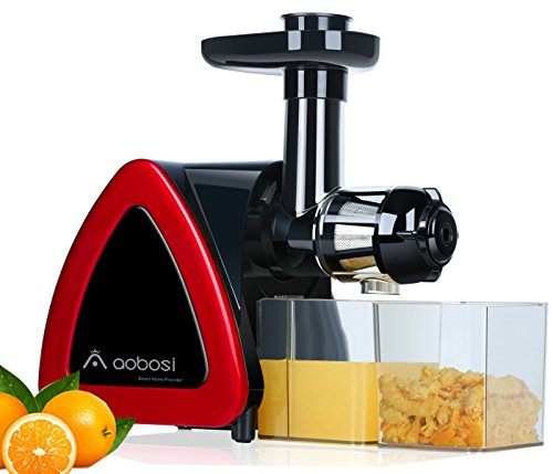Aobosi Slow Juier Masticating Juicer Juice Extractor Cold Press Juicer Quiet Motor High Nutrient...