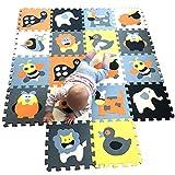 MQIAOHAM puzzle alfombrillas skip hop juego parques infantiles...