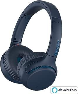 ソニー SONY ワイヤレスヘッドホン WH-XB700 : 重低音モデル / Amazon Alexa対応 / bluetooth / 最大30時間連続再生 2019年モデル ブルー WH-XB700 L