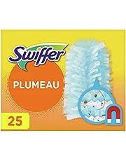 Swiffer Duster Recharges Plumeaux Attrape-Poussière, 25 Plumeaux (Lot de 5 x 5)