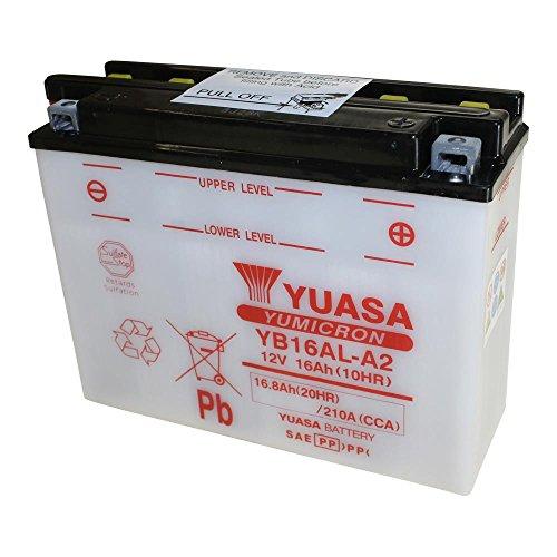 petit un compact Batterie moto YUASA YB16AL-A2