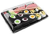 Rainbow Socks - Donna Uomo Calzini Sushi Tamago Salmone 3x Maki - 5 Paia - Taglia UE 41-46